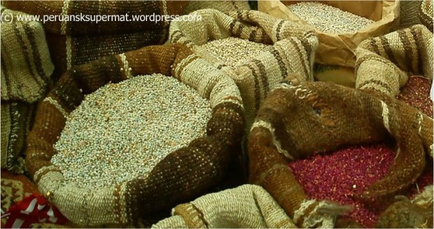 quinoa - peruansk supermat